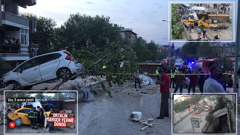 Отказавшие тормоза: 11 разбитых авто, 4 погибших, 6 пострадавших