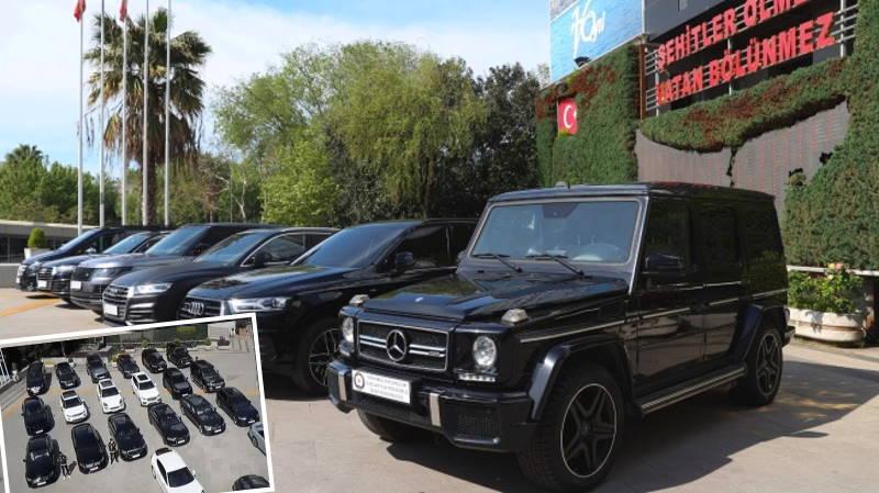 Полиция конфисковала 24 авто на сумму 40 млн лир