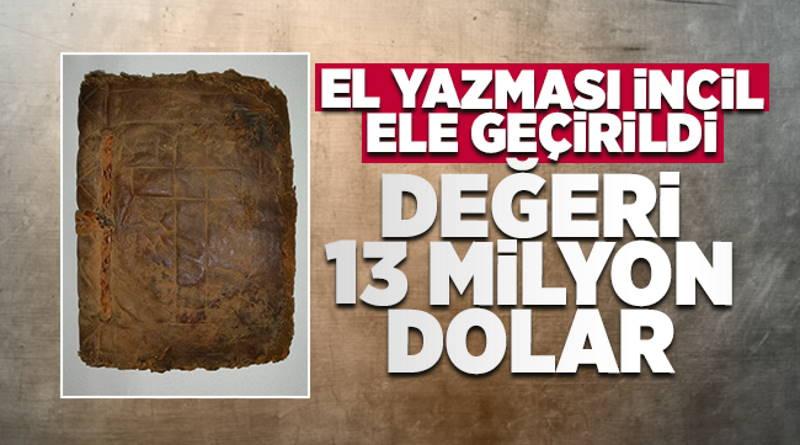 Уголовное дело вместо $13 млн за древнюю Библию