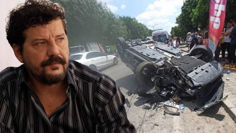 Известный актер превратил свой авто в металлолом