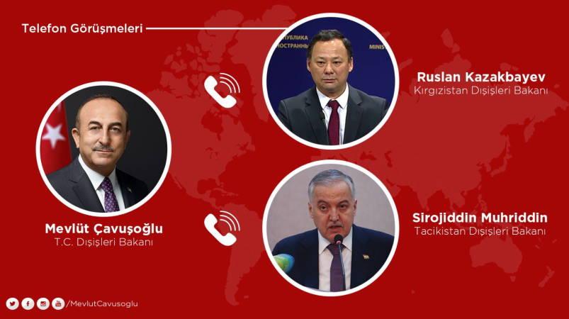 Анкара готова помочь в решении конфликта между Бишкеком и Душанбе
