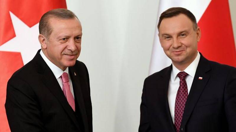 Президент Польши прибыл с визитом в Анкару