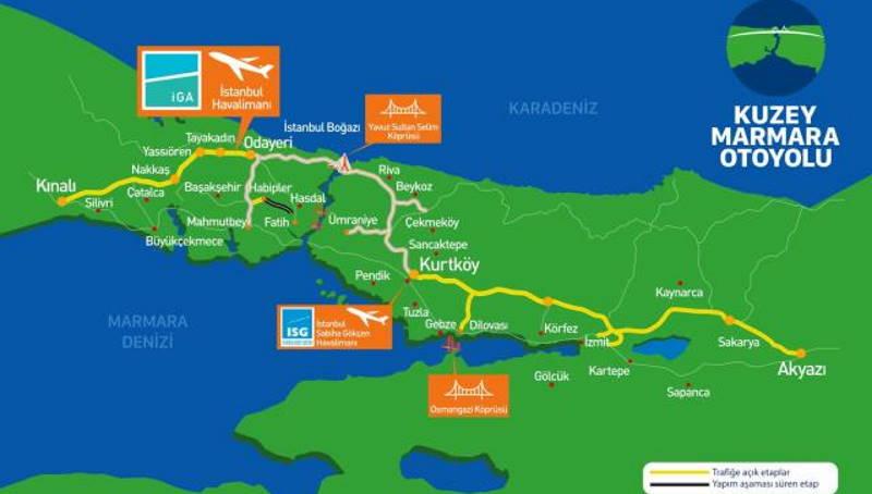 Минтранс завершил строительство трассы «Северная Мармара»