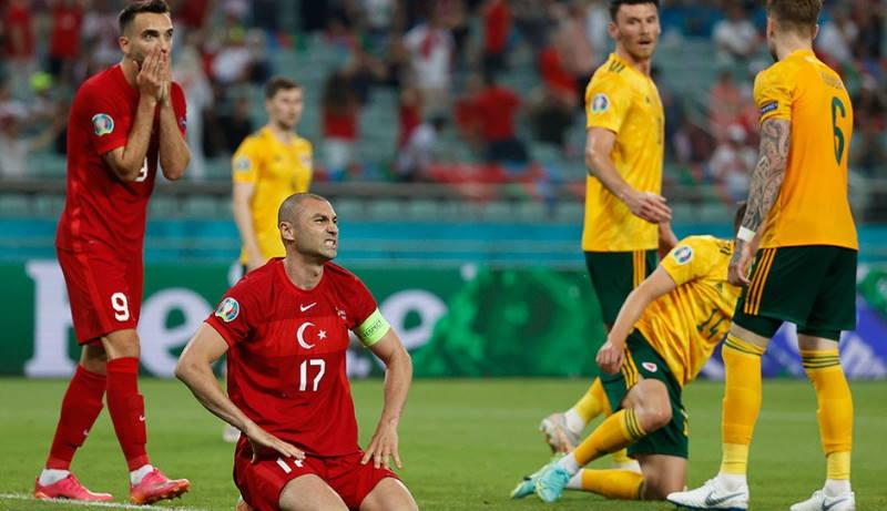 Турция проигрывает Уэльсу во втором матче Евро 2020