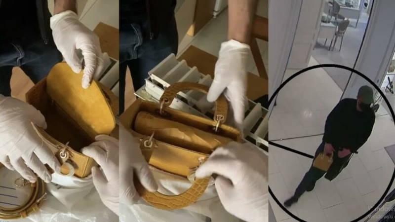 Россиянин украл сумку за 225 000 лир