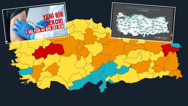 10 «синих» провинций и миллион вакцинированных за сутки