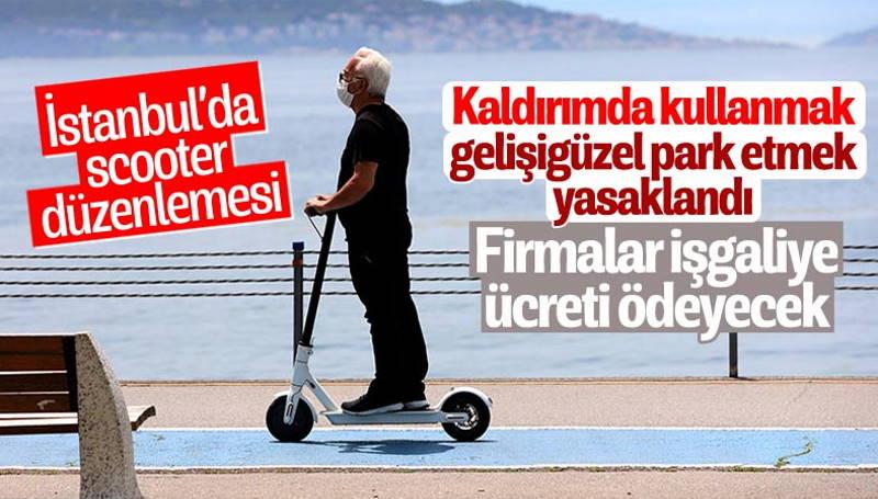 Стамбул вводит новые правила для электросамокатов