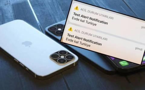 Владельцы iPhone в Турции были напуганы оповещением