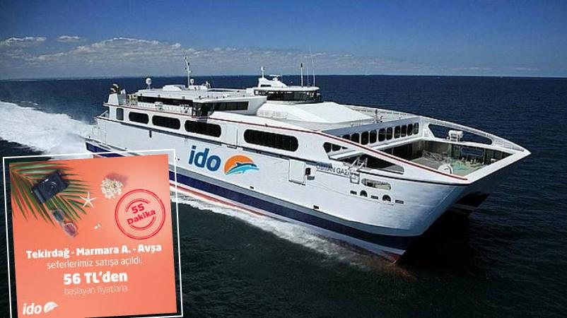 İDO запускает рейсы на острова Балыкесира