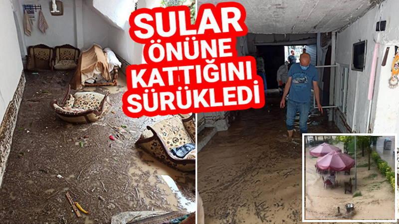 Ливни в Бурсе привели к селям и наводнению