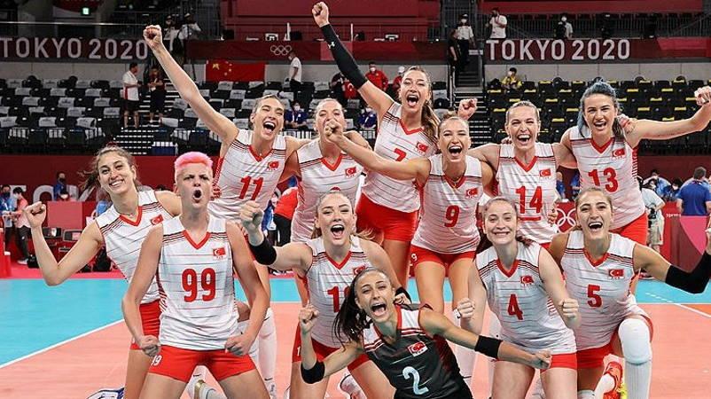 ОИ-2020: Волейболистки прошли в 1/4 финала