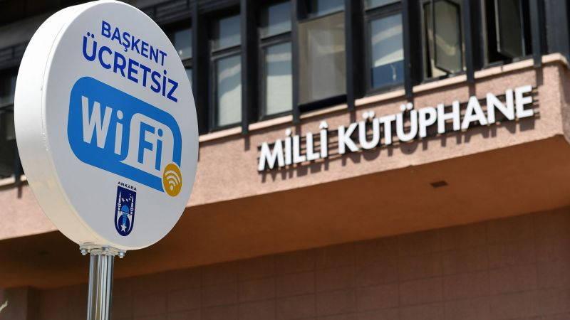 Мэрия Анкары бесплатно раздаст Wi-Fi в 35 точках