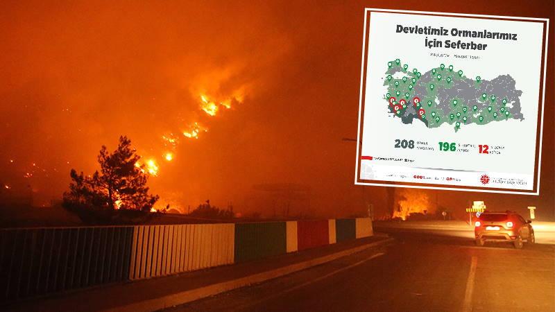 Краткая сводка: Борьба с огнем длится 10 дней
