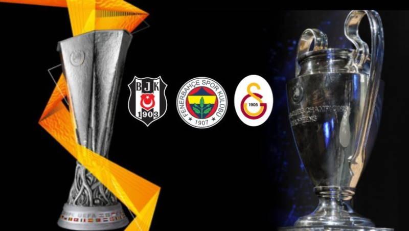 Турецкие гранды узнали свои группы в еврокубках