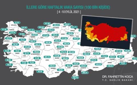 Минздрав: Карта заражений остается «красной»