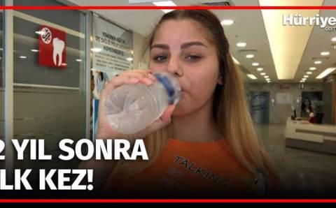 Юная украинка смогла напиться воды только в Анталии