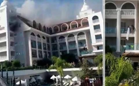Паника в горящем отеле Манавгата и смерть россиянина в Аланье
