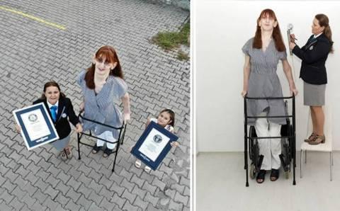 Турчанка признана самой высокой женщиной в мире