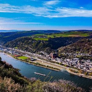 Oberwesel Blick vom Rheinsteig_000001 - News vom Rhein