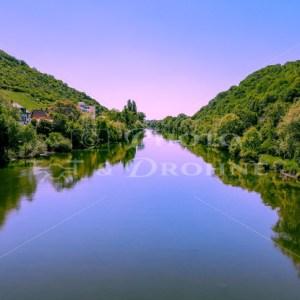 Blick auf die Nahe bei Bingen - News vom Rhein