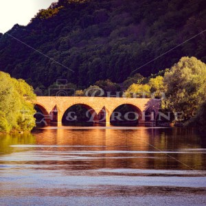 Drususbrücke über die Nahe in Bingen am Rhein - News vom Rhein