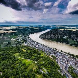 Oberwesel cloudy Day - News vom Rhein