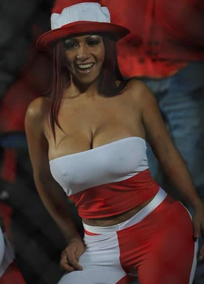 Female football fans light uppa the Copa America  7M sport