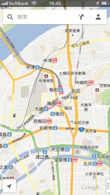 Google Mapsアプリ