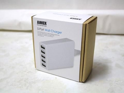 Anker 5ポート USB急速充電器