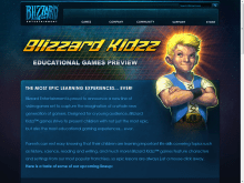 Blizzard Entertainment-Blizzard Educational Games