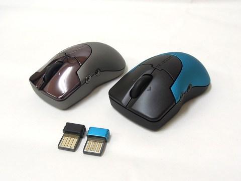 チルトホイール搭載5ボタンワイヤレスレーザーマウス M-PG2DL