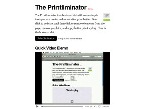 The Printliminator