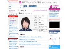 日本選手団プロフィール - JOC
