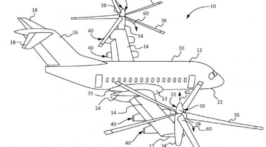 Access International Patent Boeing patents futuristic
