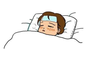 扁桃腺が腫れるといつまで熱が出る?そんな時はとりあえずどうする?