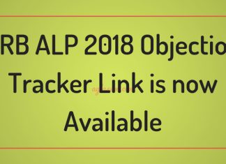 RRB ALP 2018 Objection Tracker