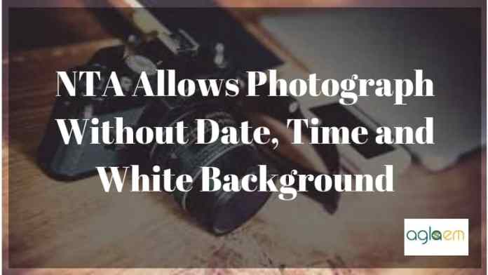 NTA Allows Photograph Without Date, Time