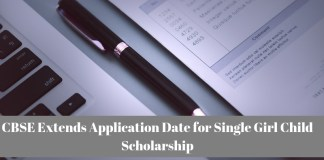 CBSE Extends Application Date for Single Girl Child Scholarship