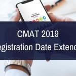 CMAT 2019 Registration Date Extended