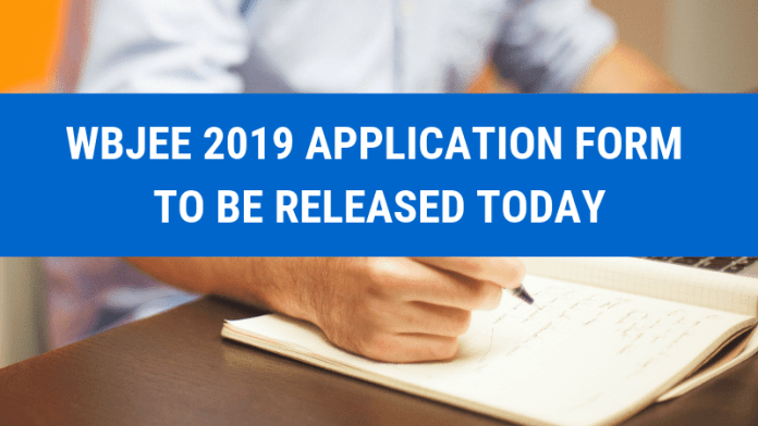 WBJEE 2019 APPLICATION FORM TO BE RELEASED TODAY
