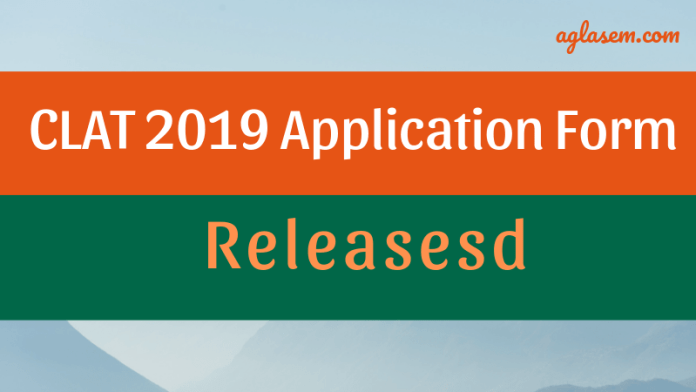 CLAT 2019 Application form released