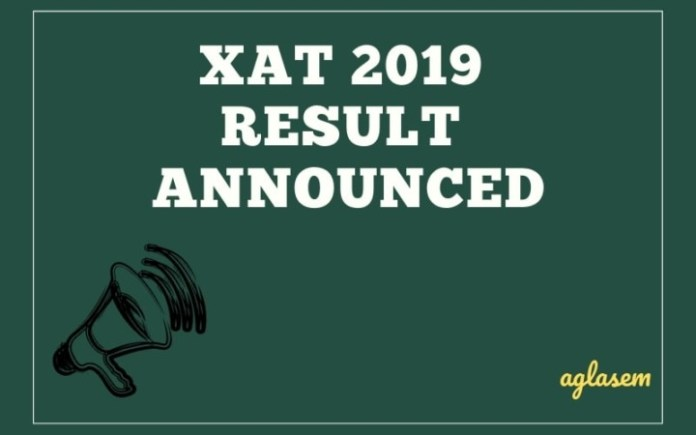 XAT 2019 Result Announced
