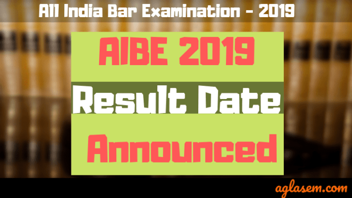 AIBE 2019 Result Date Confirmed