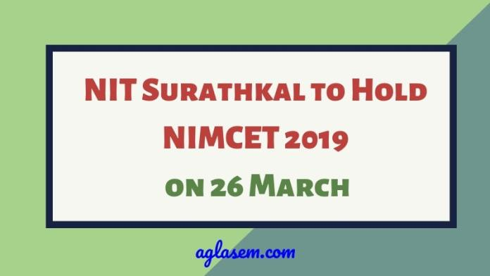 NIT Surathkal to Hold NIMCET 2019 on 26 March