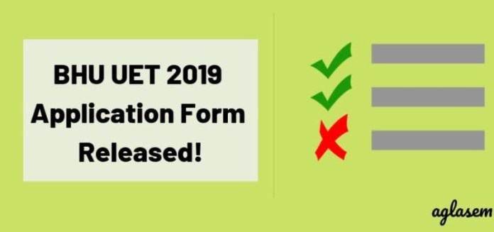 BHU UET 2019 Application Form