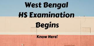 West Bengal HS Examination Begins