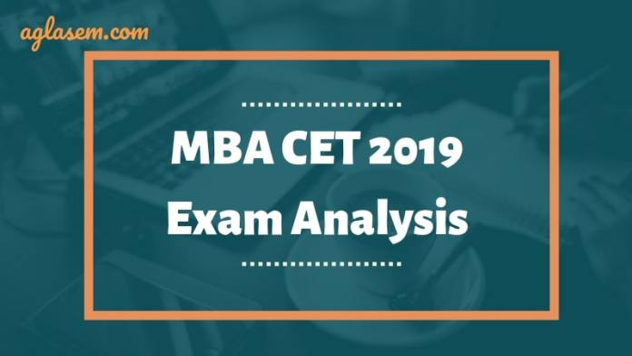 MAH MBA CET 2019 Exam Analysis
