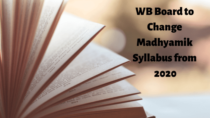 WB Board to Change Madhyamik Syllabus from 2020