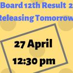 UP Board 12th Result 2019 Releasing Tomorrow-