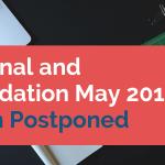 CA Final and Foundation May 2019 Exam Postponed